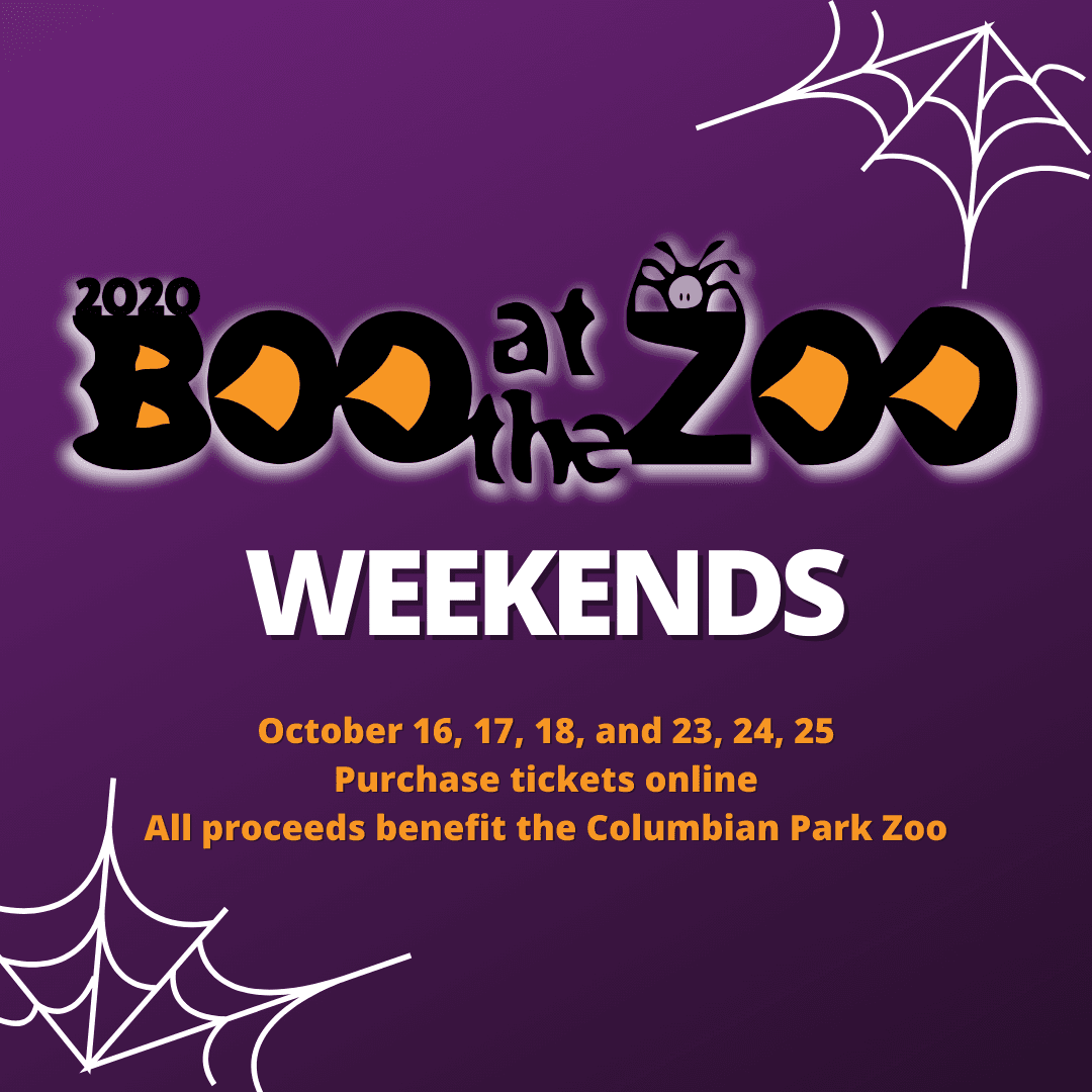 Boo at the Zoo weekends