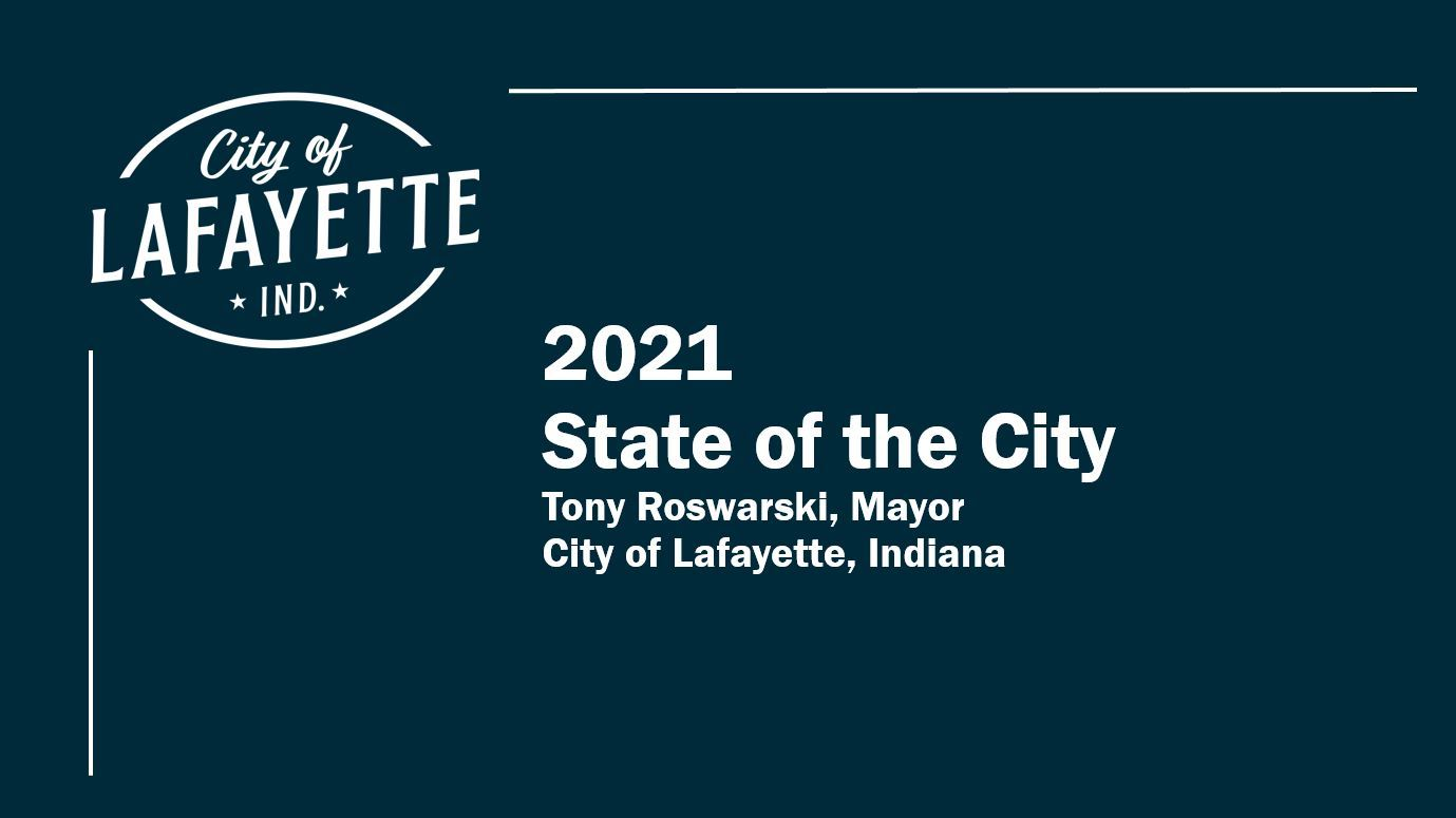 State of the City 2021 title slide